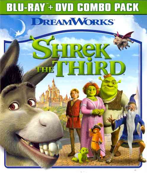 SHREK THE THIRD BY MYERS,MIKE (Blu-Ray)